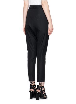 背面 - 点击放大 - ISABEL MARANT - MANDER低裆系带长裤