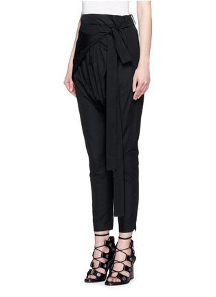 正面 - 点击放大 - ISABEL MARANT - MANDER低裆系带长裤