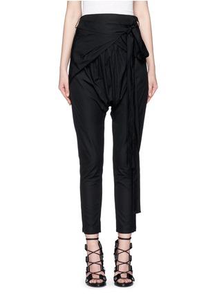 首图 - 点击放大 - ISABEL MARANT - MANDER低裆系带长裤