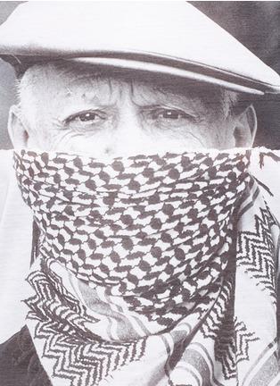 细节 - 点击放大 - NEIL BARRETT - 毕加索肖像纯棉T恤