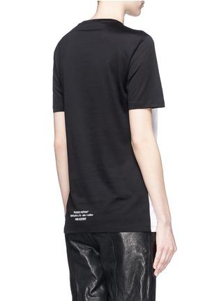 背面 - 点击放大 - NEIL BARRETT - 毕加索肖像纯棉T恤