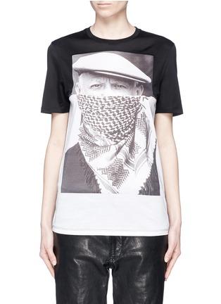 首图 - 点击放大 - NEIL BARRETT - 毕加索肖像纯棉T恤
