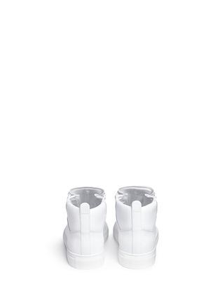 背面 - 点击放大 - BALENCIAGA - ARENA编织格纹高筒球鞋