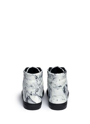 背面 - 点击放大 - BALENCIAGA - 拼色小牛皮高筒运动鞋