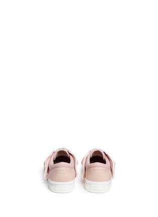 背面 - 点击放大 - STELLA MCCARTNEY KIDS - Juniper儿童款翅膀拼贴帆布便鞋