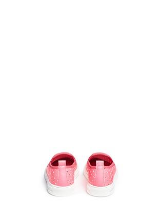 背面 - 点击放大 - STELLA MCCARTNEY KIDS - Leo儿童款星星镂空图案平底便鞋
