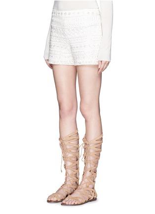 正面 - 点击放大 - ALICE + OLIVIA - SUSI高腰短裤