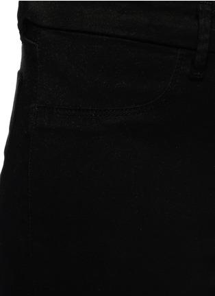细节 - 点击放大 - J BRAND - ANJA LUXE SATEEN弹力卷边八分紧身裤