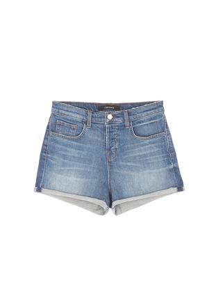 首图 - 点击放大 - J BRAND - GRACIE水洗高腰牛仔短裤