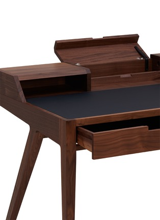细节 –点击放大 - Dare Studio - Katakana美国黑胡桃木书桌