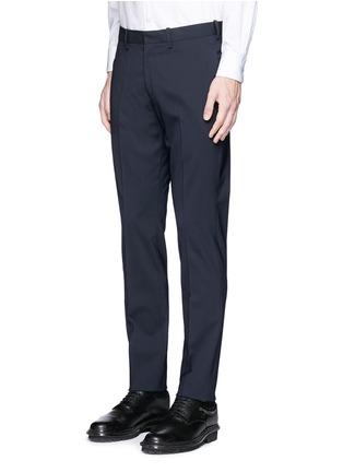 细节 - 点击放大 - NEIL BARRETT - 单色羊毛西服套装