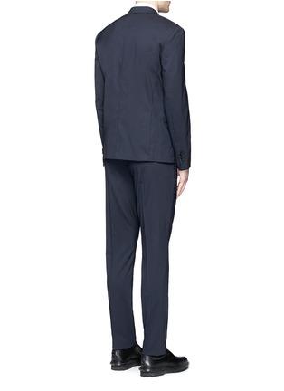 背面 - 点击放大 - NEIL BARRETT - 单色羊毛西服套装