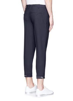 背面 - 点击放大 - NEIL BARRETT - 拉链造型装饰八分裤