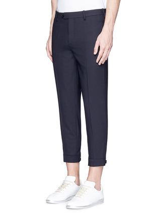 正面 -点击放大 - NEIL BARRETT - 拉链造型装饰八分裤