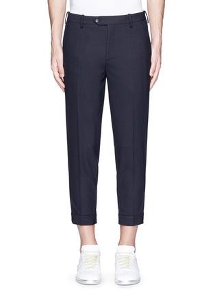 首图 - 点击放大 - NEIL BARRETT - 拉链造型装饰八分裤