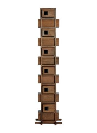 首图 –点击放大 - JOINED + JOINTED - X Beatrix Ong胡桃木立式储鞋柜