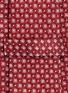 细节 - 点击放大 - ARMANI COLLEZIONI - 拼色菱格真丝领带