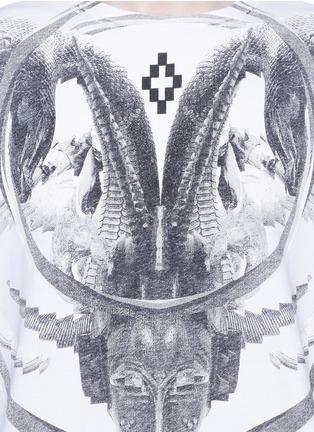 细节 - 点击放大 - MARCELO BURLON - AURORA数码印花纯棉T恤