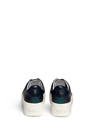 背面 - 点击放大 - ASH - CULT鳄鱼纹系带厚底鞋