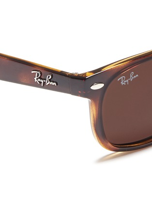 细节 - 点击放大 - RAY-BAN - 'New Wayfarer Junior' plastic sunglasses