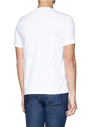 背面 - 点击放大 - DOLCE & GABBANA - 圆领弹性棉T恤