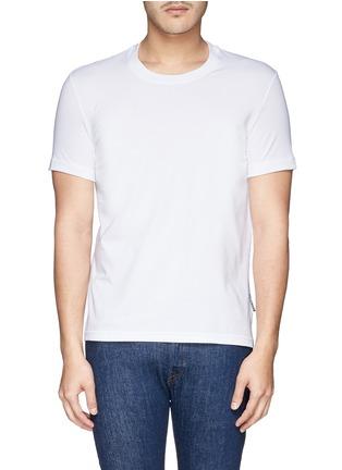 首图 - 点击放大 - DOLCE & GABBANA - 圆领弹性棉T恤