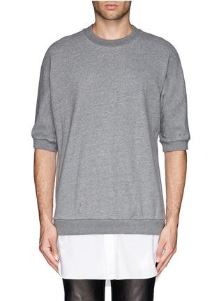 首图 - 点击放大 - 3.1 PHILLIP LIM - 纯棉拼贴套头上衣
