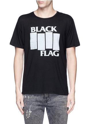 首图 - 点击放大 - R13 - 英文字印花棉混羊绒T恤