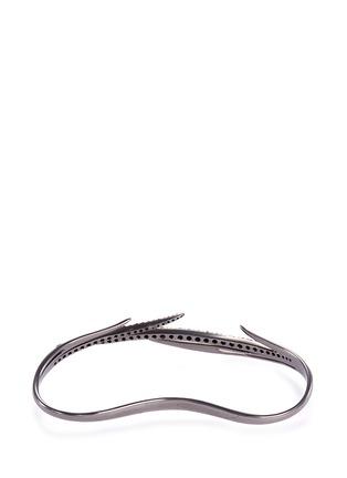 模特儿示范图 - 点击放大 - CRISTINAORTIZ - Diamond 9k white gold cuff