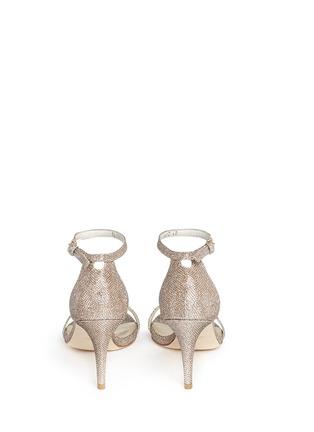 背面 - 点击放大 - STUART WEITZMAN - NUNAKED金属感高跟凉鞋