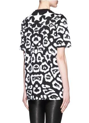 背面 - 点击放大 - GIVENCHY - 星星豹纹印花T恤