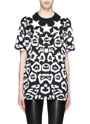 首图 - 点击放大 - GIVENCHY - 星星豹纹印花T恤