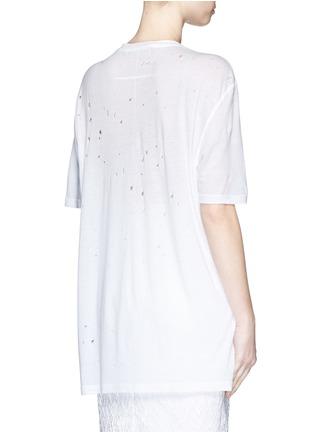 背面 - 点击放大 - GIVENCHY - 品牌标志破洞T恤