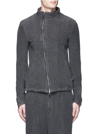 首图 - 点击放大 - THE VIRIDI-ANNE - 不对称纯棉提花外套