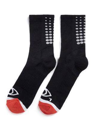 首图 - 点击放大 - ICNY - 反光波点拼色袜子