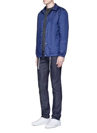 模特儿示范图 - 点击放大 - ACNE STUDIOS - Ace Str原色修身牛仔裤