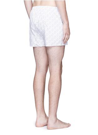背面 - 点击放大 - SUNSPEL - 细钉印花纯棉四角内裤