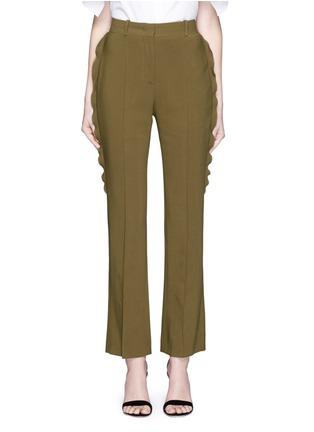 首图 - 点击放大 - Givenchy Beauty - 荷叶边装饰直脚长裤