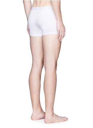 背面 - 点击放大 - DOLCE & GABBANA - SPORT CREST刺绣徽章棉质平脚内裤