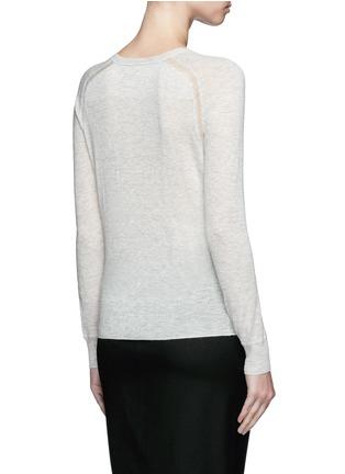 背面 - 点击放大 - ISABEL MARANT ÉTOILE - Foty混羊驼毛针织衫