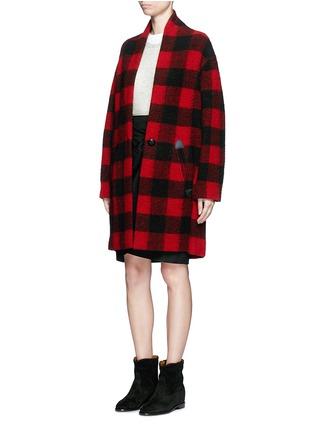 模特示范图 - 点击放大 - ISABEL MARANT ÉTOILE - Foty混羊驼毛针织衫
