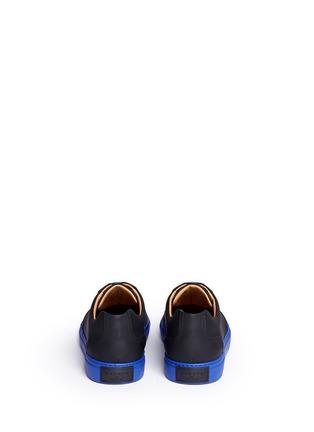 背面 - 点击放大 - HARRYS OF LONDON - MR JONES 2塑感皮革拼色球鞋