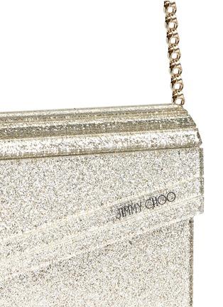 细节 - 点击放大 - JIMMY CHOO - CANDY闪粉有机玻璃盒形手拿包