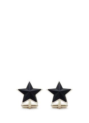 首图 - 点击放大 - GIVENCHY - 磨砂立体五角星袖扣