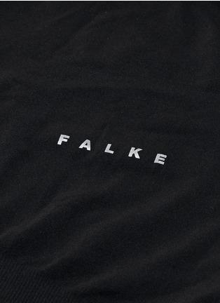 细节 - 点击放大 - FALKE - 弹性运动长袖T恤