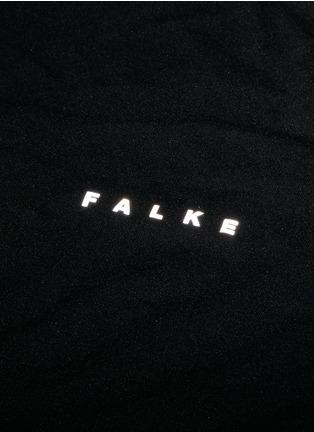 细节 - 点击放大 - FALKE SPORTS - 弹性运动长袖T恤