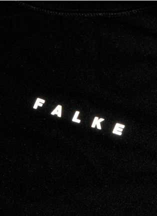 细节 - 点击放大 - FALKE - 弹性运动T恤