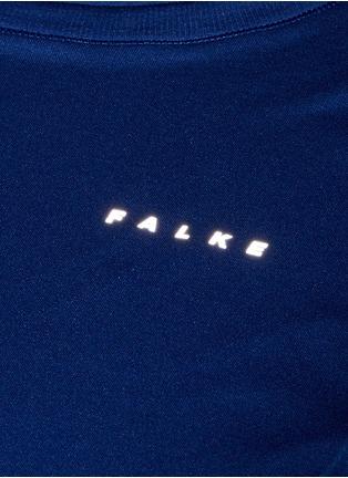 细节 - 点击放大 - FALKE SPORTS - 反光拼贴弹力长袖T恤
