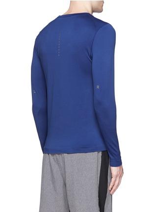 背面 - 点击放大 - FALKE SPORTS - 反光拼贴弹力长袖T恤