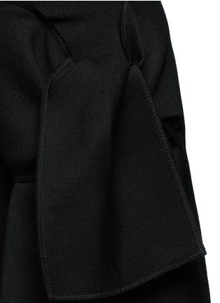 细节 - 点击放大 - VICTORIA, VICTORIA BECKHAM - 结饰混羊毛半身裙